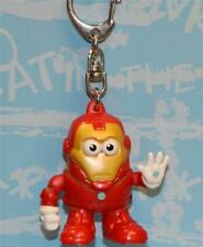 MARVEL BEST KEYRING EVER MR POTATO HEAD POPTATERS IRON MAN