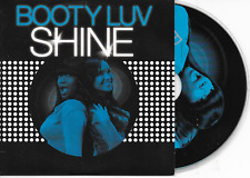 BOOTY LUV - Shine CD SINGLE 5TR House 2007 Dutch Cardsleeve (Spinnin' Records)