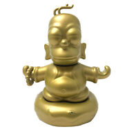 Exclusive Homer Simpson Gold Buddha The Simpsons Vinyl Figure Kidrobot Toy