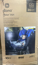 Diono Radian 3QX All-in-One Convertible Car Seat, Blue Sky, Open Box