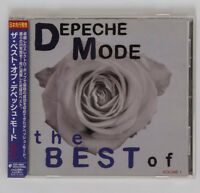 DEPECHE MODE The Best of Vol.1 Japan CD TOCP-66627 w/ Obi 2006