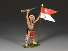 King and Country War Bonnet w/Guidon TRW132