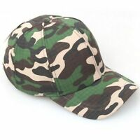 Fashion Baseball Cap Hip Hop Cap Hats For Training Camouflage Cap Army Cap