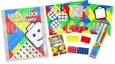 Pre Filled Brick Block Party Bag Children's Parties Wedding Birthday Reward Lego
