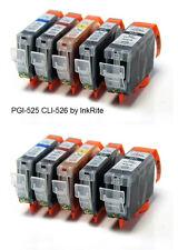 10x Canon PGI-525 CLI-526 Compatible Cartuchos De Tinta inkrite Calidad Como Original