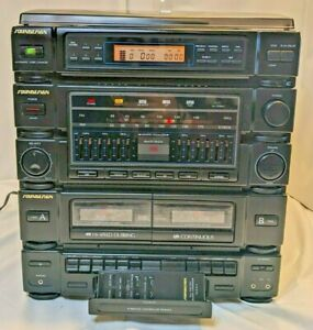Vintage Soundesign Stereo System Model 6965 ABB 5 Disc Changer - See Condition