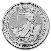2019 Great Britain 1 oz Platinum Britannia BU - SKU #182627