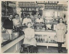 Old Photo.  Family Run Grocery Store