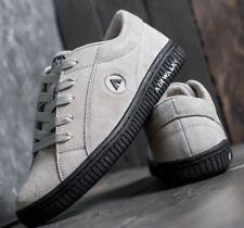NEW Airwalk Classic Skater Shoes DEADSTOCK REISSUE Stark Off White Tan / Black 6