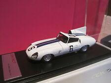 RARE CONTACT MODELES SUPERBE JAGUAR E2A 1960 LE MANS n°6 NEUF EN BOITE 1/43