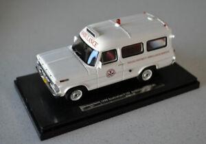 1/43 1969 Ford F100 Ambulance Young District Ambulance Service