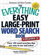 Easy Large-Print Word Search Book Vol. 5 : Over 100 Word Searches That Are...