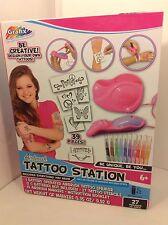 NEW  Grafix Airbrush Tattoo Station ages 6+