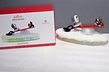 "2016 Hallmark QGO1064 ""Seesaw Shenanigans""-- Frosty Friends-- Table Decoration"