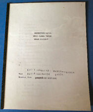 Kyoritsu EF-511N K Multi Camera Shutter Tester Manual Bound Reprint