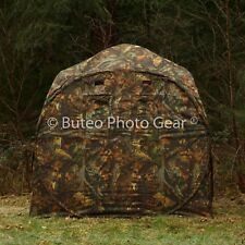 Buteo Photo Gear Hunting Blind Hide Tent + Snoot Photography + Fishing 2 Person