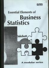 Essential Elements of Business Statistics