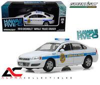 GREENLIGHT 86518 1:43 2010 CHEVROLET IMPALA HONOLULU POLICE CAR HAWAII FIVE-0