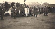 WWII Org German Luftwaffe RP- Flag- Microphone- AA Gun- Helmet- Podium- Sword