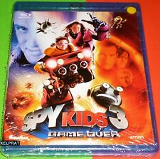 SPY KIDS 3 GAME OVER - Bluray Area B - Precintada