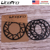 Litepro 130BCD 50-58T Narrow Wide Chainring Folding Road Bike Chainwheel Bolts
