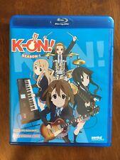 K-On!: Season 1 - Complete Collection Sentai (Blu-ray Disc, 2015, 2-Disc Set)
