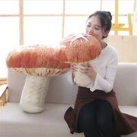 Mushroom Plush Toy Sofa Throw Pillow Unique Stuffed Doll Gift Decorative Cushion