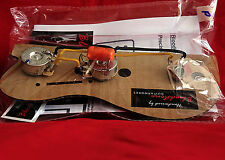 Ready built Gibson EB1 Bass Wiring mise à niveau/Loom/harnais/Kit