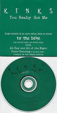 THE KINKS  You Really Got Me  rare promo CD single with Title Cover from SPAIN