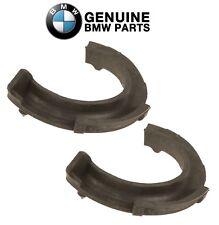 For BMW E60 E82 E84 E88 E90 Pair Set of 2 Front Lower Coil Spring Pads Genuine