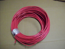 #20) NEW Coil of Electric Wire - 8 Guage Stranded Red 180'