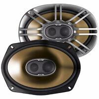 "AUTHENTIC Polk Audio DB691 6x9"" 3-Way Speakers 600 Watts (PAIR) Marine Certified"