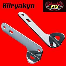 Kuryakyn Chrome Custom Tie-Down Brackets '14-'17 Touring 949