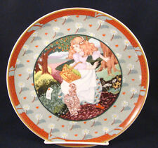 "Collector Plate German Heinrich ""A Tisket, A Tasket"" ""Once Upon a Rhyme"" @17"