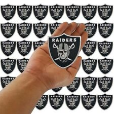 Wholesale Lot Oakland Raiders Nation Football Logo Sew Iron Embroidered on Patch