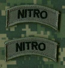NATO JSOC RANGERS SEAL SAS JTF2 KSK SP OPS NINJA NETWORK burdock TAB: NITRO x 2
