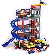 Parkgarage Spielzeug Kinder Autogarage Parkhaus Garage incl.Spielzeugautos SET