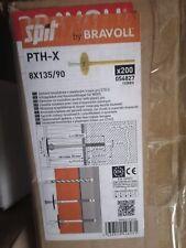 Cheville Isolation Avec Clous D'expansion Spit 8x155/100