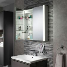 Aspen Double Cabinet Bathroom Mirror with Diffused LED's Storage
