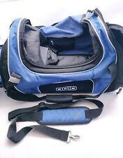 Ogio Blue and Black Gym Duffel Bag with Shoulder Strap - 3 Pockets