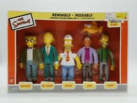 The Simpsons Springfield Nuclear Power Plant 5 + 1 Collectible Set 2003 Series 2