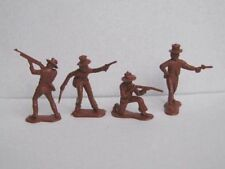 Unpainted Plastic American 2-5 Toy Soldiers
