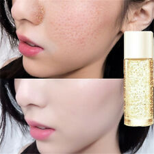 24k 10ml Gold Women Silk Collagen Skin Care Anti-Aging Face Essence Serum Cream