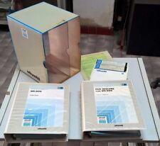 """OLIVETTI MS-DOS 3.20 MANUALE COMPLETO CON FLOPPY DISK 5,25"""",BOX,GUIDA UTENTE ETC"""