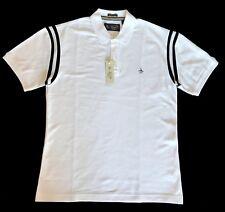 Penguin Original Short sleeve Polo Shirt Brand New  WHITE - size: Medium
