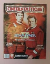 Cinefantastique Magazine 1992 Star Trek Evil Dead 3 Stephen King Naked Lunch