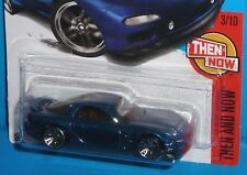 2017 HOT WHEELS '95 Mazda RX-7 #336/365 Blue Then and Now 1995 NEW