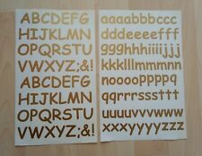 Sticky Back Letters 20mm Comic Sans Gold as picture ideal labels