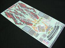 Tamiya TA02T Desert Fielder Prerunner Toyota Truck Decal Sticker & Masking Sheet