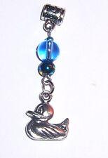 +Anhänger ENTE,Typ European Bead,Glas,Kettenanhänger